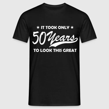 50 years - Men's T-Shirt
