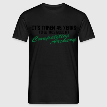 competitive archery - Men's T-Shirt