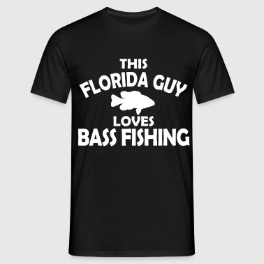 forida bass fishing - Men's T-Shirt