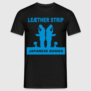 T-Shirt : Japanese Bodies - Männer T-Shirt