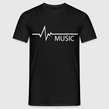 Frequence Music - Men's T-Shirt