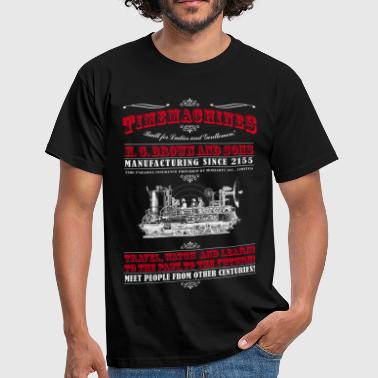Time Machines (Voor Dark Producten) - Mannen T-shirt
