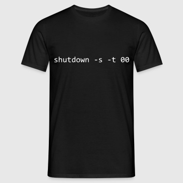 SHUTDOWN IMMEDIATEMENT / -s -t 00 | WINDOWS - T-shirt Homme
