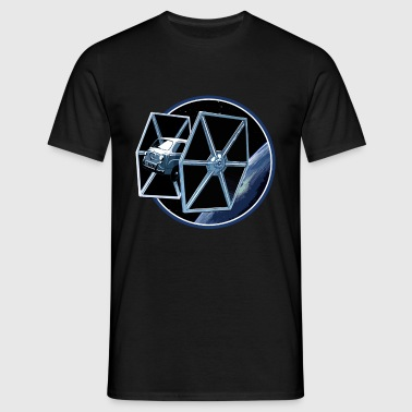 Fiat 600 multipla Tie Fighter peoardu idea - Men's T-Shirt
