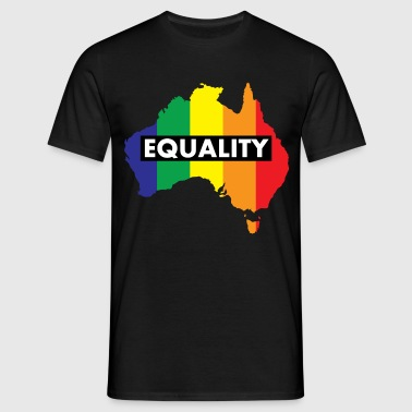 Vote Yes-Australia Marriage Equality - Men's T-Shirt