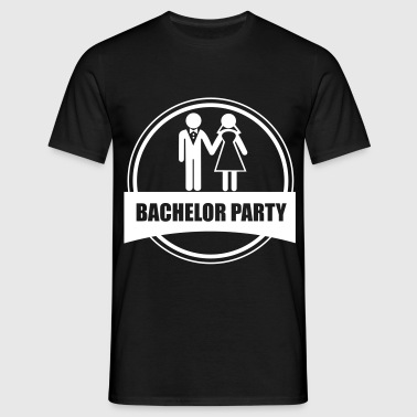 bachelor party - stag do  - Men's T-Shirt