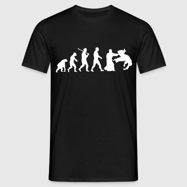 Evolution: Aïkido - Männer T-Shirt
