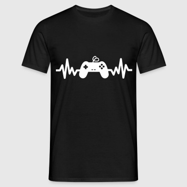 gaming is life - Geek Gamer Nerd Play - Männer T-Shirt
