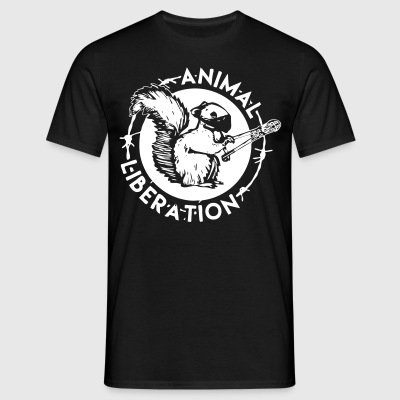 Squirrel Animal Liberation - T-shirt Homme