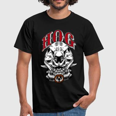 wild_hog_skull - Men's T-Shirt