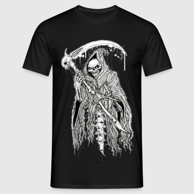 DEATH black - Men's T-Shirt
