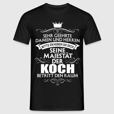 suchbegriff 39 koch 39 t shirts online bestellen spreadshirt. Black Bedroom Furniture Sets. Home Design Ideas