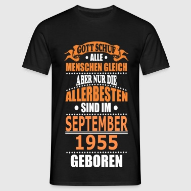 SEPTEMBER 1955 - Männer T-Shirt