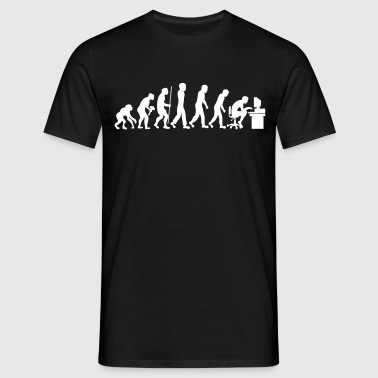 evolution geek ordinateur informatique  - T-shirt Homme
