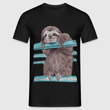 Hey mr sloth - Männer T-Shirt