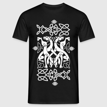 Celtic dog noodle - Men's T-Shirt