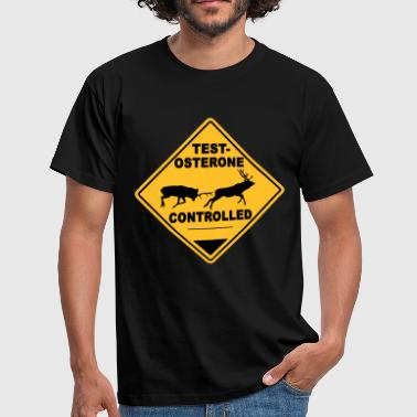 Testosterone controlled - T-shirt Homme