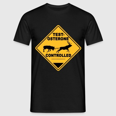 Testosterone controlled - T-shirt herr