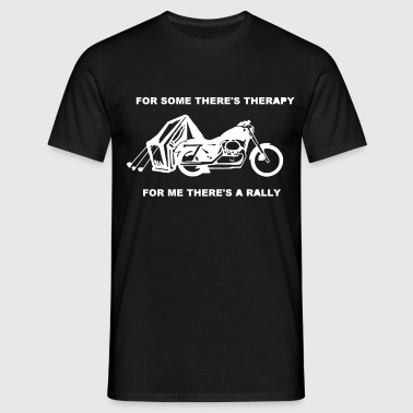 Bike Rally Therapy - Men's T-Shirt