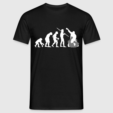 Evolution of Man - MMA - Men's T-Shirt