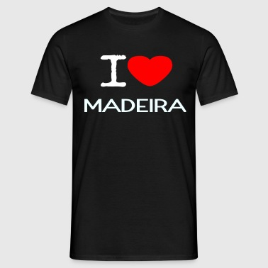 J'AIME MADERE - T-shirt Homme