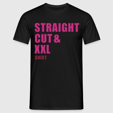 straight cut xxl shirt - T-shirt Homme