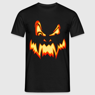 halloween pumpkin - T-shirt Homme