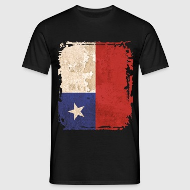 Chile Flag - Men's T-Shirt
