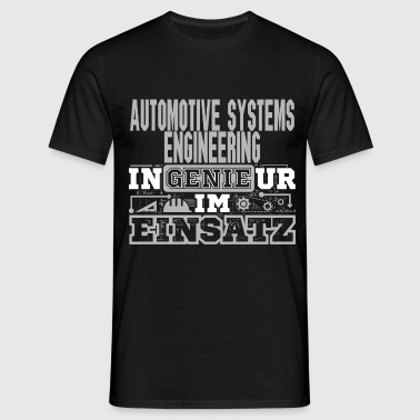 Automotive-Systems-Engine - Männer T-Shirt