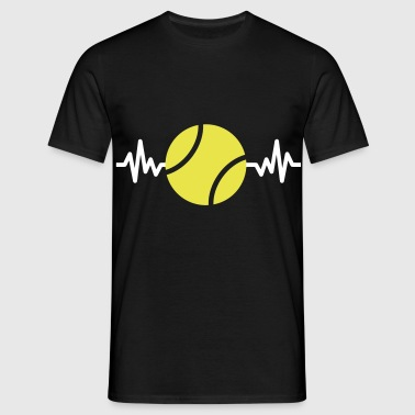 tennis is life - J'aime le tennis  - T-shirt Homme