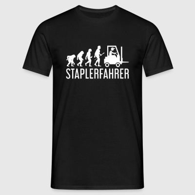 Stapler Evolution - Männer T-Shirt
