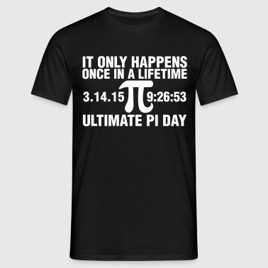 Ultimate Pi Day 2015  - Men's T-Shirt