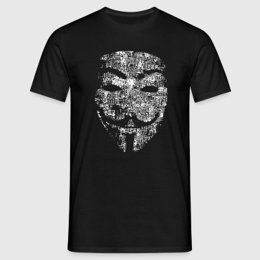 les pirates anonymes masque - T-shirt Homme