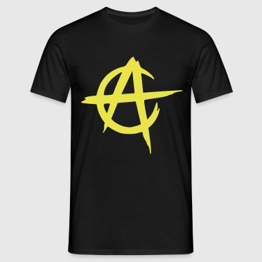 anarcho capitalism vector - Mannen T-shirt