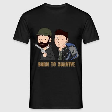 Wankul - Born to survive - T-shirt Homme