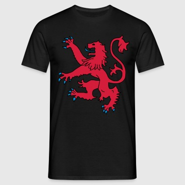 Scottish Lion - Men's T-Shirt
