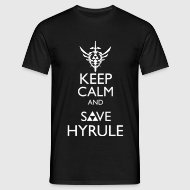 Keep Calm & Save Hyrule - Men's T-Shirt