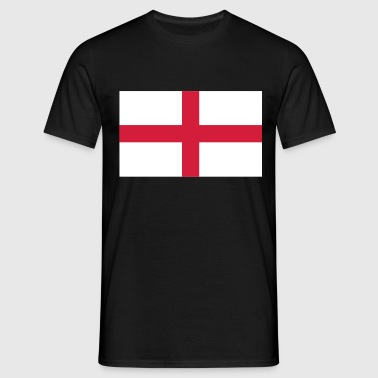 St George's Cross - English Flag - Men's T-Shirt