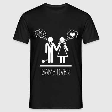 Game over - Stag do - Hen party - Wedding - Men's T-Shirt