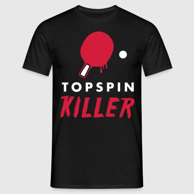 table tennis: topspin killer - Maglietta da uomo