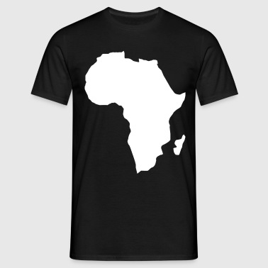 Africa the dark continent  - Men's T-Shirt