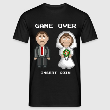 Marriage - Game Over - Men's T-Shirt