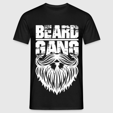 beard gang - funny Bartshirt - Men's T-Shirt