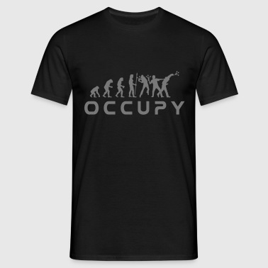 evolution_occupy - T-shirt Homme