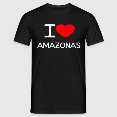 J'AIME AMAZON - T-shirt Homme