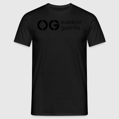 outdoor guerilla - Men's T-Shirt