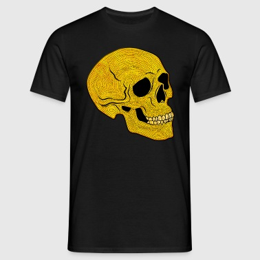 YellowSkull - T-skjorte for menn