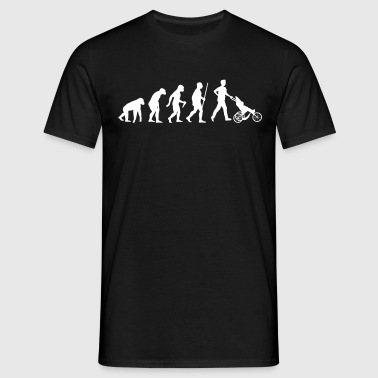 Papa Evolution - T-shirt Homme