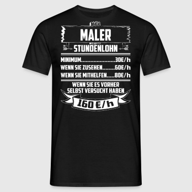 suchbegriff 39 maler k nstler 39 t shirts online bestellen spreadshirt. Black Bedroom Furniture Sets. Home Design Ideas