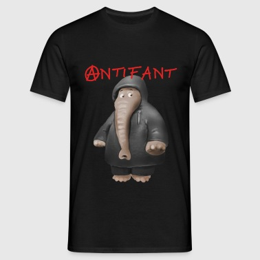 Antifant - Männer T-Shirt